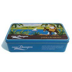 rectangular food tin container