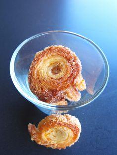 Sfogline arancia e cannella caramellate - orange and cinnamon caramelized puff pastry