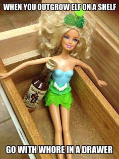 Barbie! Always a hot mess.