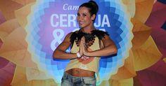 Aos 41 anos, Scheila Carvalho exibe barriga trincada