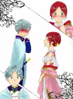 Akagami no Shirayukihime - Zen and SHIRAYUKI