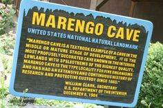 Marengo #Cave in Marengo, #Indiana Keeps Its Cool -- Very nice! An experienced caver, as in, travels the world to study caves, informed us that it is the best cave in the US!