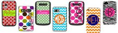 Lots of Otterbox cases to choose from...and they are PERSONALIZED!
