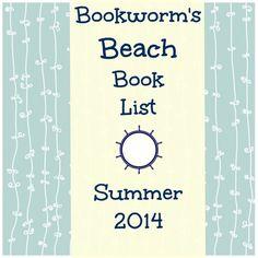 Bookworm's #Beach #Book List  - Summer 2014