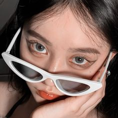 Aesthetic Eyes, Korean Aesthetic, Aesthetic Photo, Aesthetic Girl, Pretty Korean Girls, Asian Eye Makeup, Uzzlang Girl, Digital Art Girl, Girl Photography Poses