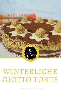 Giotto - diese wahnsinnig leckeren, kleinen italienischen Gebäckkugeln dürften jedem bekannt sein. Probiert doch daher mal diese Giotto Torte aus! Eine feine winterliche Note bekommt dieses Rezept durch ein wenig Zimtpulver- lasst es euch schmecken!
