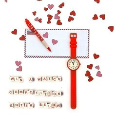 It's competition time!  For your chance to win a Newgate Red Electric Watch simply -  Follow @newgatewatches  Like this photo  Comment 'Valentine'  Enter on Instagram Facebook and/or Twitter.  Winner (chosen at random) announced on Friday.  Open worldwide (winner outside UK mainland must cover postage)  Good Luck everyone!  #Competition #Newgate #NewgateWatches #Watch #Giveaway #Win #WinAWatch #Watches #WatchPorn #FlatLay  #loveletter #onthetable #Scrabble #FreebieFriday #UK #British…