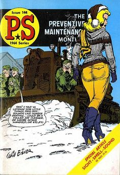 Meet Connie Rodd, Will Eisner's porny pin-up who taught preventative maintenance to the U.S. Army   Dangerous Minds