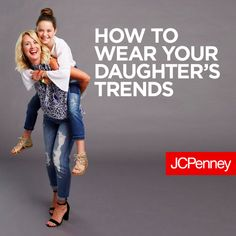 Watch how fashion blogger Hi Sugarplum wears the same trends as her daughter. Back to school shopping isn't just for the kids. Moms can shop the fall trends too! From denim details to ruffles and lace tops, mom and daughter can wear the same trends in different ways to create cute mom and me outfits.