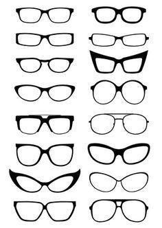 plantillas patrones gafas - Buscar con Google