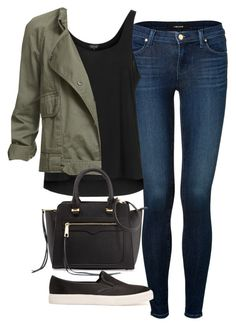 """""""Sin título #3713"""" by marym96 ❤ liked on Polyvore featuring J Brand, Topshop, Rebecca Minkoff and MANGO"""