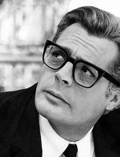 """#Vintage and #Fashion -- #MarcelloMastroianni in """"Otto E Mezzo"""" by #FedericoFellini 1963 -- #BlackTie"""