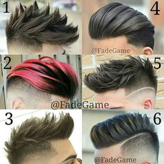 "8,425 Me gusta, 111 comentarios - Best Men's Hairstyles and Cuts (@menshairs) en Instagram: ""@fadegame - Choose your favourite...COMMENT Barbers : 1. @maioh89 2. @juanmapeluka 3.…"""