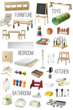Montessori in the home from Ikea - How we Montessori, ideas for infant, toddler and preschooler environments