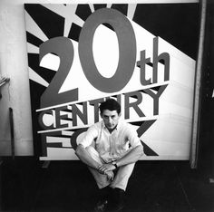 Ed Ruscha (1963), Echo Park Studio, Los Angeles, California, USA