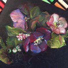 Процесс... #art #painting #pastelle #пастель # рисунок #графика #topcreator