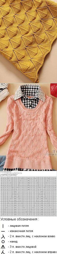 Вязание: очень красивый узор