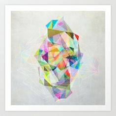 Graphic 119 Art Print by Mareike Böhmer Graphics - $20.00