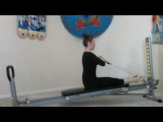Pilates Exercises You Didnt Know You Could Do on the Total Gym - Week 1 - Total Gym Pulse Total Gym Workouts, Pilates Workout Routine, Pilates Reformer Exercises, Gym Workouts Women, Daily Exercise Routines, At Home Workouts, Body Workouts, Pilates At Home, Pilates Body