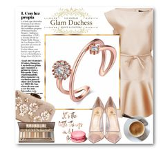 """Glam Duchess"" by glamduchess ❤ liked on Polyvore featuring Paule Ka and Semilla"