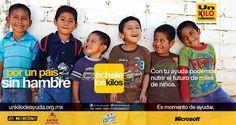 Tent card de campaña nacional de recaudación 2013