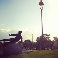 Bonjour tour Eiffel