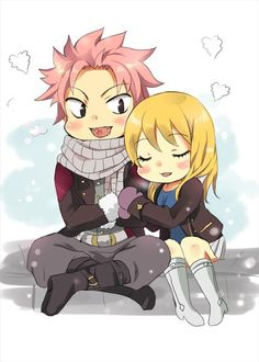 And NaLu fanart too XD Fairy Tail cover was so cute #myfanart #fanart