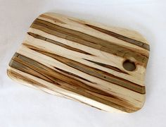 Wooden Cutting Board Ambrosia Maple Natural Look by foodiebords, $32.50