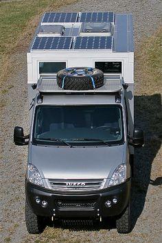 EX37 / Iveco Daily Solar Panel Setup