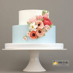 Buttercream Flower Cake by WeCake                                                                                                                                                                                 More