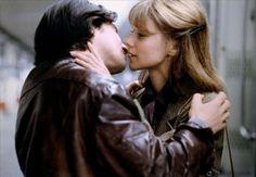 Jean-Pierre Léaud and Frédérique Hoschédé in L'amour en fuite (Love on the Run, 1979). Directed by François Truffaut.
