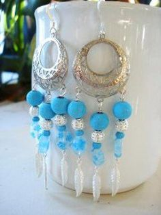 Earrings are fun and quick to make. From simple dangles to elaborate chandeliers, the possibilities are endless. Here are some design ideas and tutorials to admire and inspire as you explore ways to make earrings in perhaps new and most certainly...