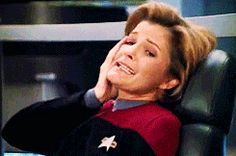 <b>Captain Janeway is tired of your shit.</b> JANEWAY OUT.
