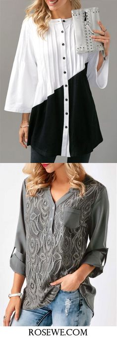 Cute blouses for women at Rosewe.com, check them out.