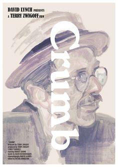 Tony Stella's poster for Terry Zwigoff's Crumb
