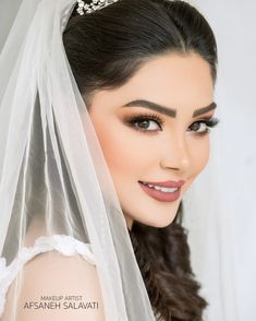 Beauty salon legend on Instag Dramatic Wedding Makeup, Wedding Makeup Tips, Natural Wedding Makeup, Bride Makeup, Wedding Hair And Makeup, Bridal Hair, Hair Makeup, Make Up Looks, Make Up Studio