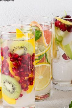 10 Refreshing Flavoured Waters