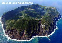 Le volcan d'Aogashima, 青ヶ島, Située dans l'archipel d'Izu, Japon Beautiful Places In The World, Places Around The World, Around The Worlds, Amazing Places, Wonderful Places, Amazing Things, Places To Travel, Places To See, Travel Destinations