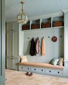If you are going to use a Master Bedroom makeover as your next Bedroom decorating project, you will want to think carefully about what kind of decor and fixtures you need for your Mud Room. The Mud Room is a… Continue Reading → Flur Design, Design Design, Interior Design, Mudroom Laundry Room, Bench Mudroom, Small Lanterns, Entry Way Design, Built In Bench, Entryway