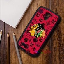 NHL Hocky Chicago Blackhawks top selling cell phone case cover for Samsung Galaxy S3 S4 S5 Note 2 Note 3 s6 Note 4 #11610