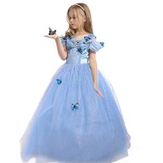 Shop ELSA & ANNA UK Girls Party Outfit Fancy Dress Snow Queen Princess Halloween Costume Cosplay Dress years, Free delivery and returns on eligible orders of or more. Girls Maxi Dresses, Red Wedding Dresses, Dresses Uk, Tutu Dresses, Butterfly Party Costume, Butterfly Dress, Butterfly Fairy, Blue Butterfly, Dress Up Costumes