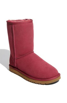 UGG® Australia 'Classic Short' Boot (Women) | Nordstrom sangria