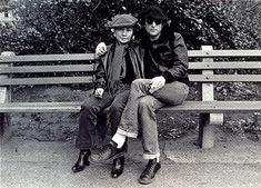 Yoko, Lennon & a pair of  Adidas Stan Smith.