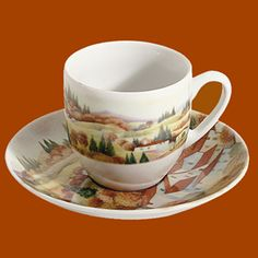 Espresso Coffee Cup | Autumn