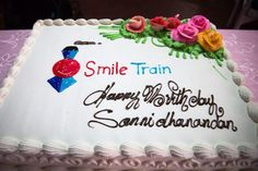 Smile Train is an international children's charity with a sustainable approach to a single, solvable problem: cleft lip and palate. Fundraising Ideas, It's Your Birthday, Charity, Birthdays, Train, Smile, Unique, Anniversaries, Birthday