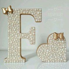 Alphabet Images, Alphabet Design, Mdf Letters, Wooden Letters, Diy Arts And Crafts, Paper Crafts, Name Decorations, Alphabet Wallpaper, Picture Letters