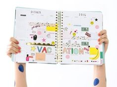 """A <a href=""""http://www.bando.com/products/sticker-book"""" target=""""_blank"""">set of over 700 stickers</a> for making homework and decorating your planner so much more fun."""