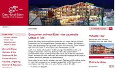 Das Hotel Eden Seefeld © echonet communication GmbH