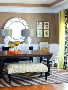 Style on a Budget Decorating : House Tour from BHG