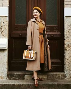 Vintage Style Outfits, Vintage Fashion, Classy Sexy Outfits, Prom Dresses Long With Sleeves, Moda Vintage, Fashion Outfits, Womens Fashion, Fasion, Fall Wardrobe